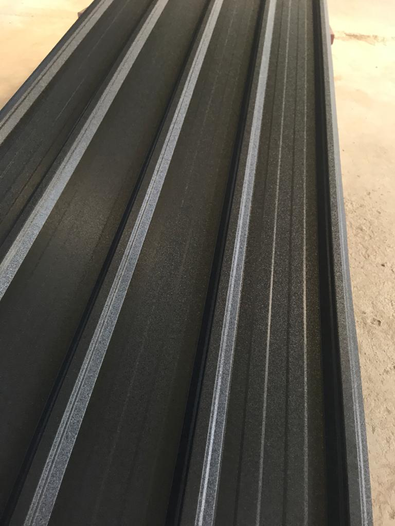 Frosted Dark Charcoal grey IBR